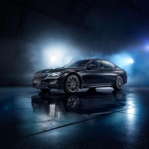 BMW 750i Black Ice Edition 2017 года
